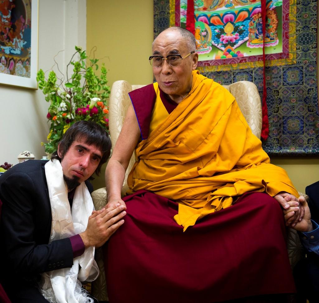 Osel co el Dalai Lama